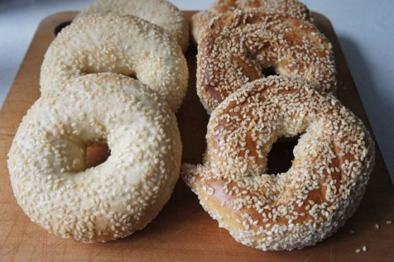 New York style bagels and Montreal-style bagels