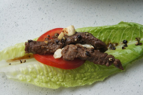 Kambot lettuce leaf